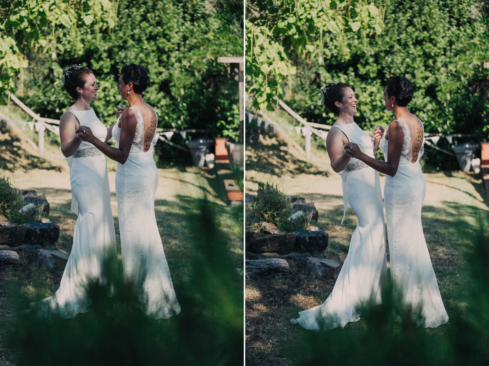 same sex wedding in lucca
